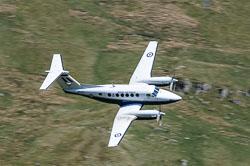 RAF King Air, Lowfly, Wales