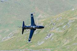RAF BAe Hawk T2, Lowfly, Wales