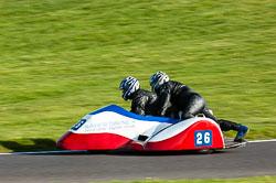 Phil Parks & Paul Owen, FSRA F350/Post Classic, NG, Cadwell Park 2011