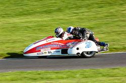 Merv Nobel & Keith Brotherton, FSRA F350/Post Classic, NG, Cadwell Park 2011