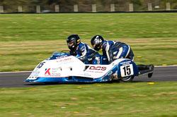 Pat Gallagher & Sean Rooney, FSRA F350/Post Classic, NG, Cadwell Park 2011