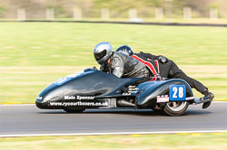 Dave Cheesmond & Andrew Taylor, FSRA F350/Post Classic, NG, Cadwell Park 2011
