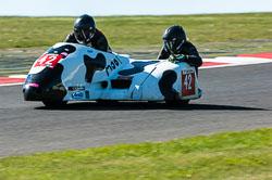 Miles Bennett & Kevin Perry, FSRA F2, Derby Phoenix, Cadwell Park, 2011
