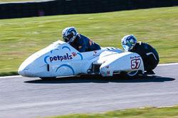 Dave Wallis & Steve Wareham, FSRA F2, Derby Phoenix, Cadwell Park, 2011