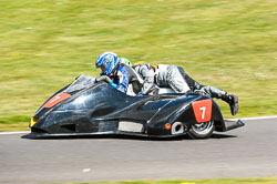 Dave Ward & Adam Buxton, Open Sidecar, Derby Phoenix, Cadwell Park, 2011