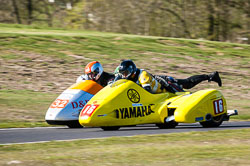 Gary Gibson & Phil Hyde, Open Sidecar, Derby Phoenix, Cadwell Park, 2011