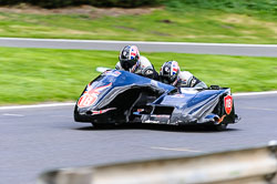 David Blackwood & Jayne Blackwood, F2 Sidecars, Derby Phoenix, Cadwell Park, September 2011