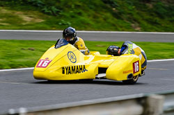 Gary Gibson & Phil Hyde, F2 Sidecars, Derby Phoenix, Cadwell Park, September 2011