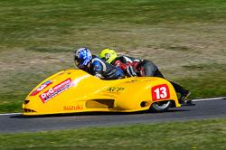 Ewan Walker & Peter Burgess, Sidecar, NG, Cadwell Park, 2013