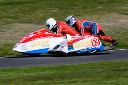 Greg Lambert & Stuart Ramsey, Sidecar, NG, Cadwell Park, 2013