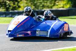 Steve Hicks & PJ McLaverty, Open Sidecar, Derby Phoenix, Cadwell Park, May 2013