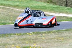 Patrick Geffray & Ronnie Aine, Open Sidecar, Derby Phoenix, Cadwell Park, May 2013