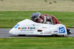 Gordon Jones & Julie Jones, FSRA F350 / Post Classic, Cadwell Park, May 2013