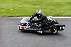 Nick Robinson & Shelli Robinson, Classic Sidecars, CRMC, Cadwell Park