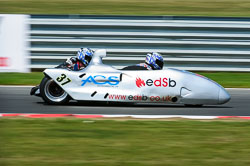 British F1 Sidecar, Snetterton, 2013-07