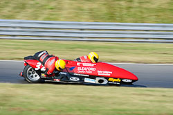 Gary Horspole & Paul Knapton, British F1 Sidecar, Snetterton, 2013-07