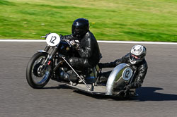 Mark Whittaker & Sue Whittaker, VMCC, Cadwell Park, September 2013