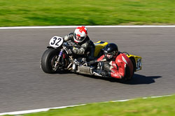 Kerry Williams & Billy Weston, VMCC, Cadwell Park, September 2013
