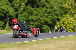 Phillip Holt & Jeff Gamble, VMCC, Cadwell Park, September 2013