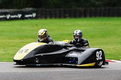 Shawn Hildige & Helen Deeley, BMCRC, Cadwell Park, 2013-09