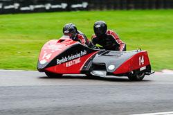 Simon Christie & Sam Christie, BMCRC, Cadwell Park, 2013-09