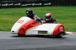 Dave De Mott & Kevin Jones, BMCRC, Cadwell Park, 2013-09
