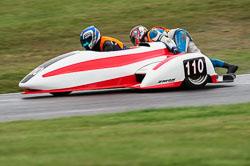 Alison Lawrence & Ginny Bourne, BMCRC, Cadwell Park, 2013-09