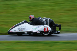 Brian Ilaria & Lee Saunders , BMCRC, Cadwell Park, 2013-09