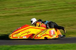 Carl Fenwick & Phil Knapton, Derby Phoenix, Cadwell Park, 2013-10