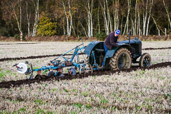 Fordson at Sherwood Ploughing Match, Budby, Notinghamshire, November 2017. Photo: Neil Houltby