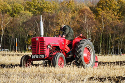McCormick International B250 at Sherwood Ploughing Match, Budby, Notinghamshire, November 2017. Photo: Neil Houltby