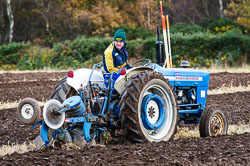 Ford 3000 at Sherwood Ploughing Match, Budby, Notinghamshire, November 2017. Photo: Neil Houltby