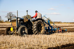 Fordson at Collingham Ploughing Match, Swinderby, Lincolnshire, February 2018. Photo: Neil Houltby
