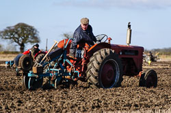 McCormick International B275 at Collingham Ploughing Match, Swinderby, Lincolnshire, February 2018. Photo: Neil Houltby