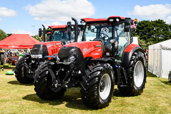 Case 150 CVX at Lincolnshire Show, Lincolnshire Showground, Lincolnshire, June 2018. Photo: Neil Houltby