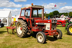 International 946 at Lincolnshire Show, Lincolnshire Showground, Lincolnshire, June 2018. Photo: Neil Houltby