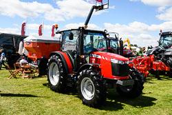Massey Ferguson 4709 at Lincolnshire Show, Lincolnshire Showground, Lincolnshire, June 2018. Photo: Neil Houltby
