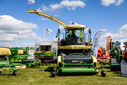 Krone Big X at Lincolnshire Show, Lincolnshire Showground, Lincolnshire, June 2018. Photo: Neil Houltby