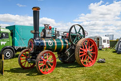 William Foster Traction Engine at Lincolnshire Show, Lincolnshire Showground, Lincolnshire, June 2018. Photo: Neil Houltby