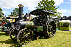 Ruston Steam Traction Engine at Lincolnshire Show, Lincolnshire Showground, Lincolnshire, June 2018. Photo: Neil Houltby
