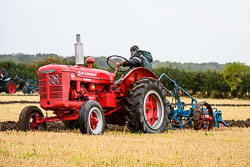 McCormick Standard W-4 at National Vintage Tractor & Engine Club Show, Bothamsall, Nottinghamshire, August 2018. Photo: Neil Houltby