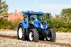 New Holland T7 at Flintham Show, Bingham, Notinghamshire, September 2018. Photo: Neil Houltby