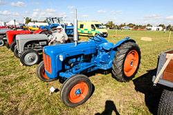 Fordson Dextra at Flintham Show, Bingham, Notinghamshire, September 2018. Photo: Neil Houltby