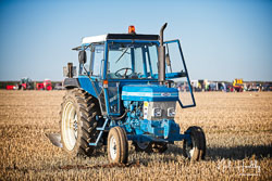 Ford 6610 at Barton Upon Humber Ploughing Tournament, Worlaby Top, Lincolnshire, October 2018. Photo: Neil Houltby