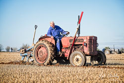 McCormick International at Barton Upon Humber Ploughing Tournament, Worlaby Top, Lincolnshire, October 2018. Photo: Neil Houltby
