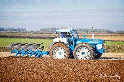 Ford 1124 County at Barton Upon Humber Ploughing Tournament, Worlaby Top, Lincolnshire, October 2018. Photo: Neil Houltby
