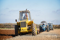 Muir-Hill at Barton Upon Humber Ploughing Tournament, Worlaby Top, Lincolnshire, October 2018. Photo: Neil Houltby