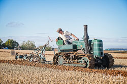 Fowler VF Crawler at Barton Upon Humber Ploughing Tournament, Worlaby Top, Lincolnshire, October 2018. Photo: Neil Houltby