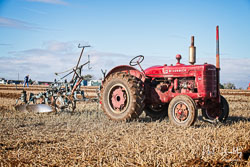 McCormick Standard W-4 at Barton Upon Humber Ploughing Tournament, Worlaby Top, Lincolnshire, October 2018. Photo: Neil Houltby