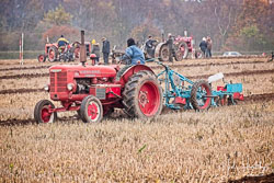 McCormick Standard W4 at Sherwood Ploughing Match, Budby, Nottinghamshire, November 2018. Photo: Neil Houltby